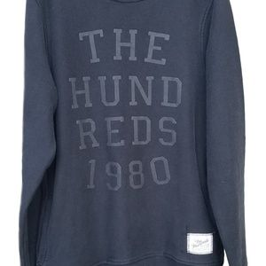 👑 The Hundreds 1980 All Black Sweater 👑